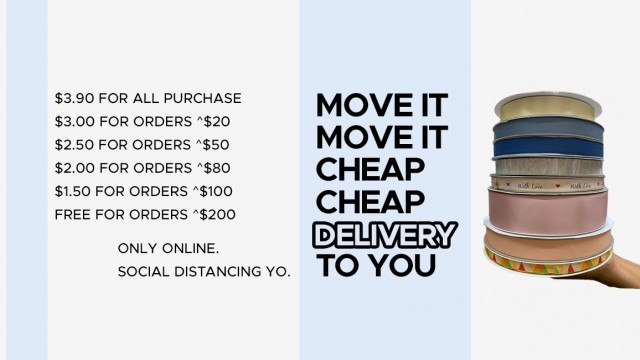 Move it move it 2020 - Delivery Charges