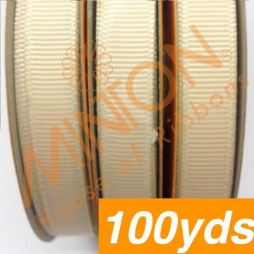 10mmx100yds Grosgrain Nude