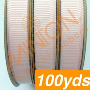 10mmx100yds Grosgrain Lt.Pink