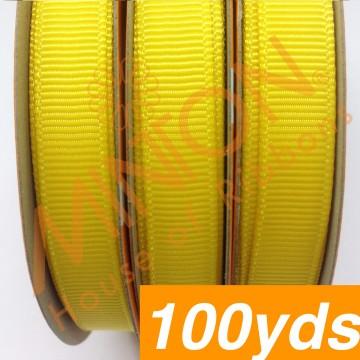 10mmx100yds Grosgrain Daffodil