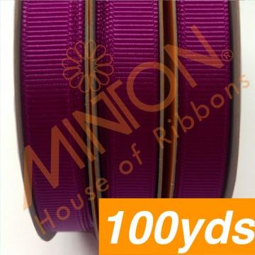 10mmx100yds Grosgrain Magenta