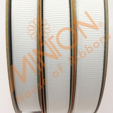 10mmx20yds Grosgrain White