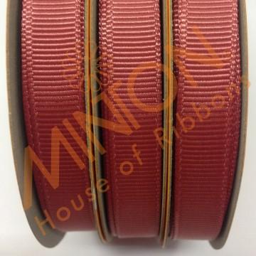 10mmx20yds Grosgrain Cinnabar