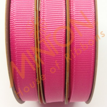 10mmx20yds Grosgrain Hot Pink