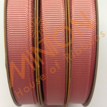 10mmx20yds Grosgrain Dusty Rose