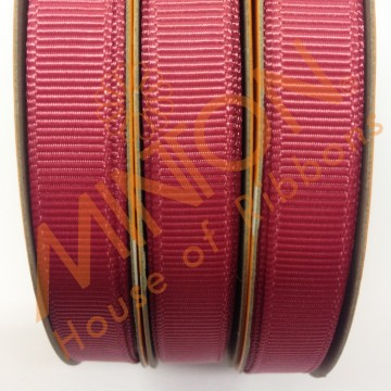 10mmx20yds Grosgrain Colonial Rose