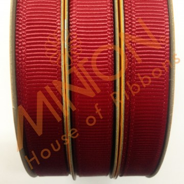 10mmx20yds Grosgrain Scarlet (Red)