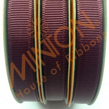 10mmx20yds Grosgrain Burgundy