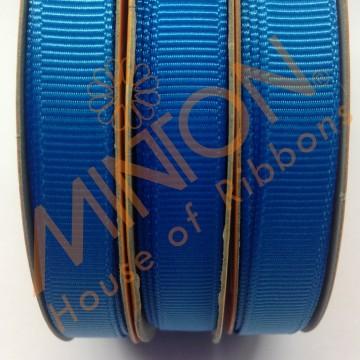 10mmx20yds Grosgrain Aegean Blue