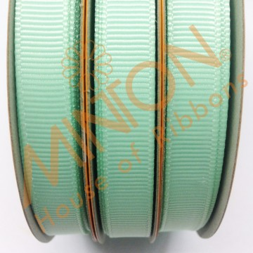 10mmx20yds Grosgrain Pastel Green