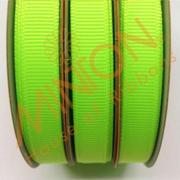 10mmx20yds Grosgrain Key Lime