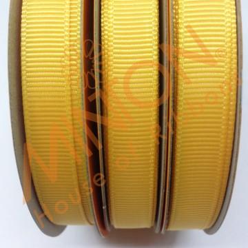 10mmx20yds Grosgrain Yellow Gold