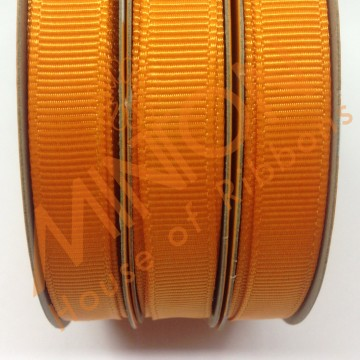 10mmx20yds Grosgrain Tangerine