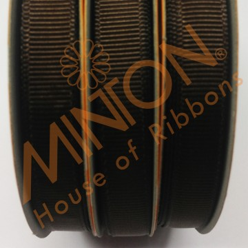 10mmx20yds Grosgrain Brown