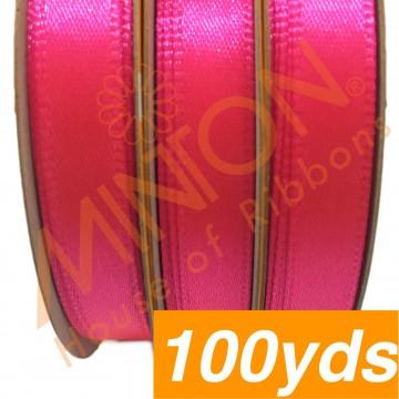10mmx100yds SF Satin Neon Pink