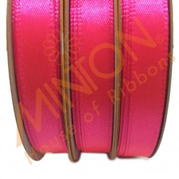 10mmx25yds SF Satin Neon Pink