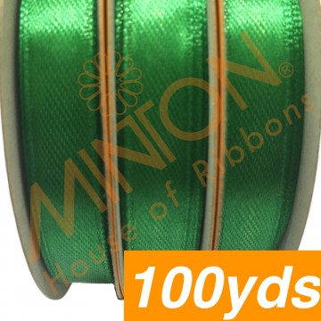 10mmx100yds SF Satin Emerald Green