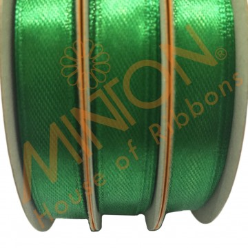 10mmx25yds SF Satin Emerald Green