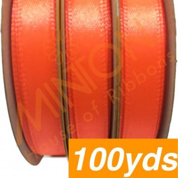 10mmx100yds SF Satin Neon Orange
