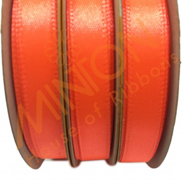 10mmx25yds SF Satin Neon Orange