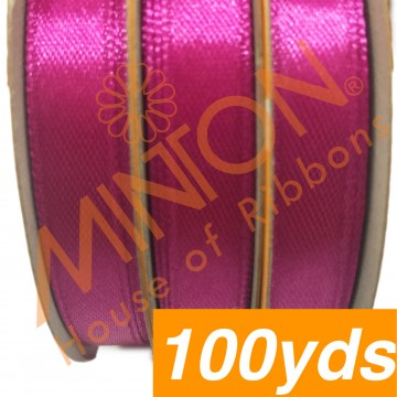 10mmx100yds SF Satin Azalea Pink