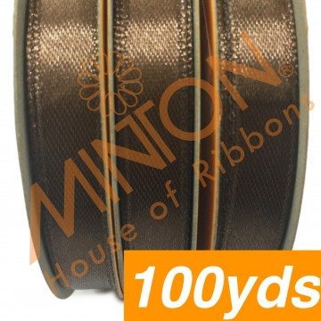 10mmx100yds SF Satin Brown