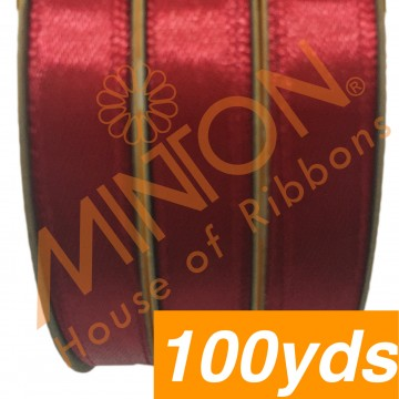 10mmx100yds SF Satin Scarlet Red