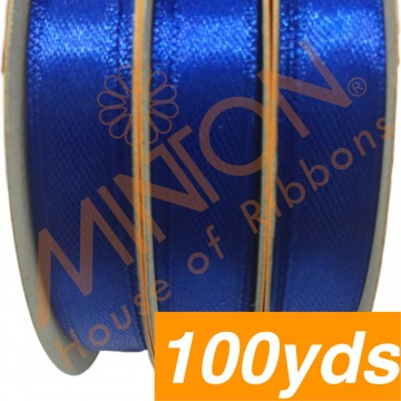 10mmx100yds SF Satin Electric Blue