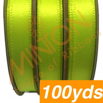 10mmx100yds SF Satin Neon Yellow