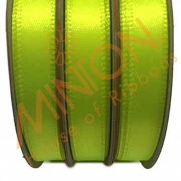 10mmx25yds SF Satin Neon Yellow