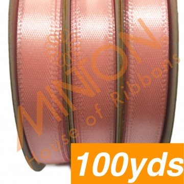 10mmx100yds SF Satin Salmon Pink