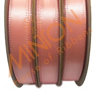 10mmx25yds SF Satin Salmon Pink