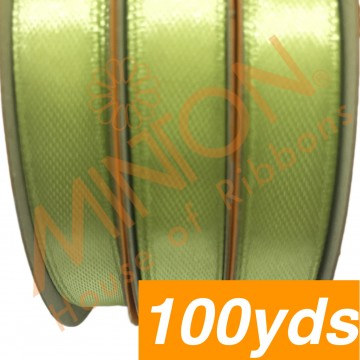 10mmx100yds SF Satin Apple Green