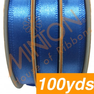 10mmx100yds SF Satin Capri Blue