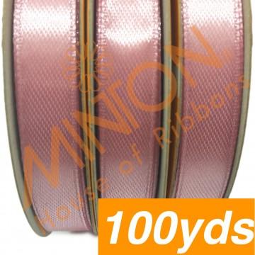 10mmx100yds SF Satin Tulip Pink