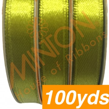 10mmx100yds SF Satin Olive Green