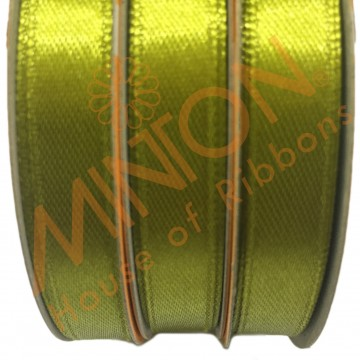 10mmx25yds SF Satin Olive Green