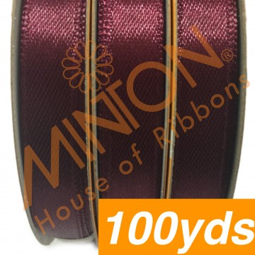 10mmx100yds SF Satin Burgundy