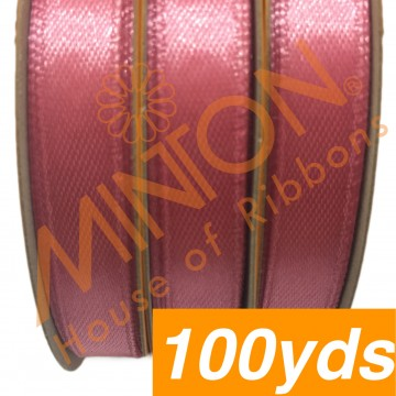10mmx100yds SF Satin Camelia Rose