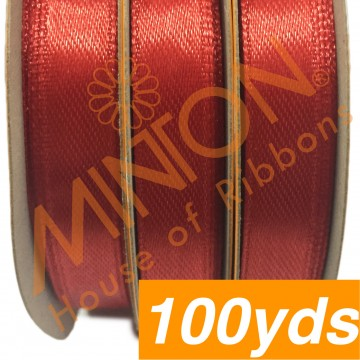 10mmx100yds SF Satin Red