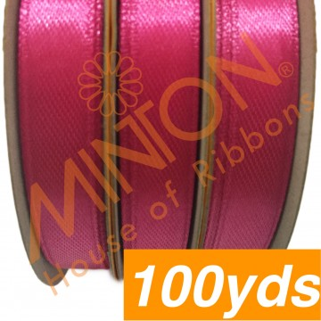 10mmx100yds SF Satin Shocking Pink