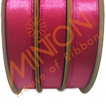 10mmx25yds SF Satin Shocking Pink