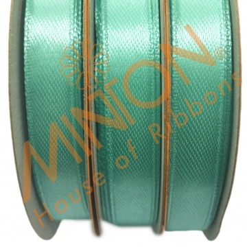 10mmx25yds SF Satin Aqua