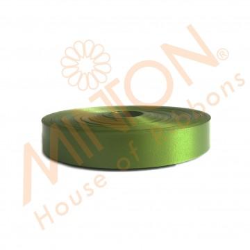 19mmx100yds Polypropylene Plastic Ribbon Olive Green