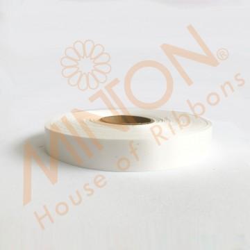 19mmx100yds Polypropylene Plastic Ribbon White
