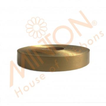 19mmx100yds Polypropylene Plastic Dark Gold