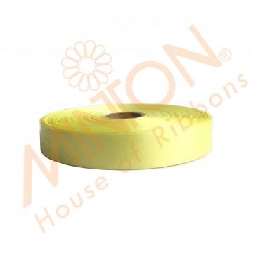 19mmx100yds Polypropylene Plastic Ribbon Lemon Yellow
