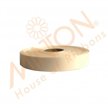 19mmx100yds Polypropylene Plastic Ribbon Ivory