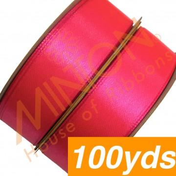 19mmx100yds SF Satin Neon Pink