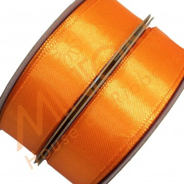 19mmx25yds SF Satin Tangerine Orange